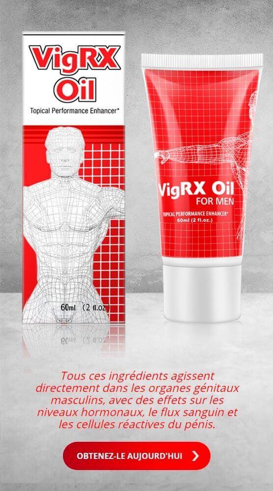 VigRX Oil - Huile qui améliore l'érection